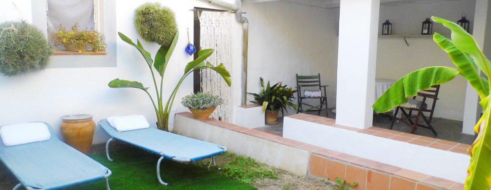Schickes Stadthaus mit Garten und Garage in Felanitx — DH 122