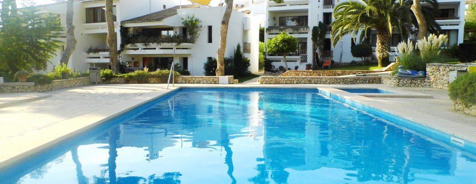 Apartment mit Gemeinschaftspool in Cala Ferrera — AP 286