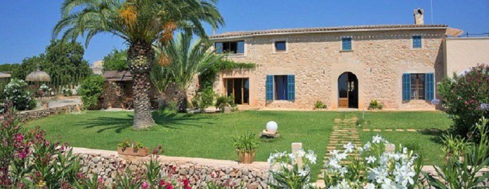 Wonderfull Finca with pool and sep. apartment near S Horta — F 260 CM