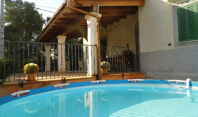 Villa with garden and Pool in Portocolom — CH 149 CM